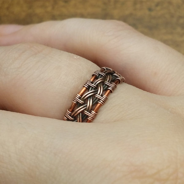 Celtic-Knot-Ring-Wire-Wrap-Tutorial-2