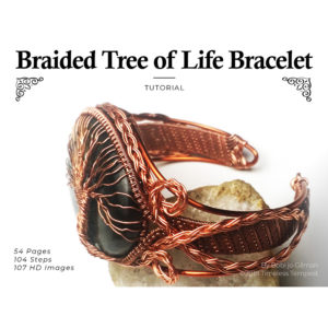 celtic knot tree of life bracelet wire wrap tutorial 1