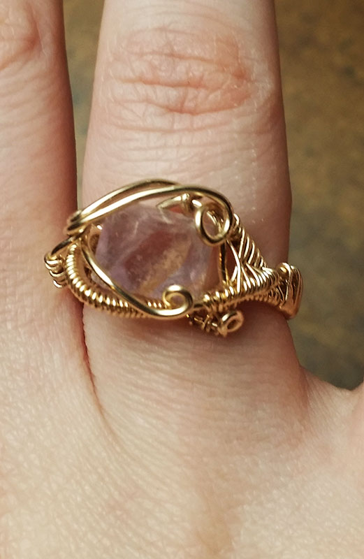 14k-Gold-Handmade-Wire-Wrapped-Gemstone-Ring