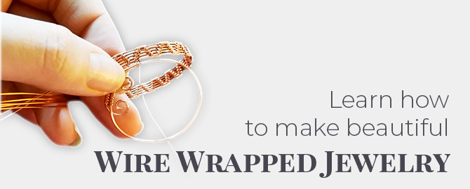 Learn how to Make Wire Wrapped Jewelry Using Pdf Tutorials