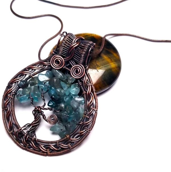 Tree of Life Wire Wrap Tutorial How To Make A Beaded Wire Tree of Life Pendant Necklace 3