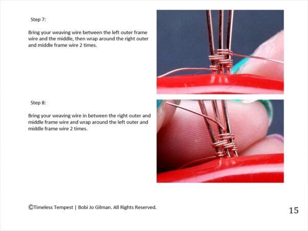 Wire Weaving Patterns 9 Intermediate Wire Weaving Techniques Wire Wrap Tutorial 4